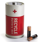 Luckies Battery Box Battery Recycling Tin