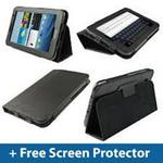 Wireless Bluetooth Keyboard Case For Samsung Galaxy Tab 2 P3100 / P6200 - Brown