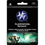 Playstation Network $20 Virtual Card USA