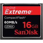 SanDisk Extreme 16GB Compact Flash Memory Card