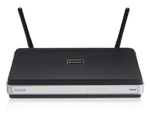D-Link Draft 2 802.11n Wireless Router With 4 Port 10/100 Switch
