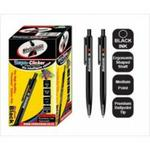 Statemans Stationery CLIC PENS 50's BLACK INK 309650BKKL657