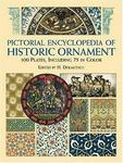 Pictorial Encyclopedia of Historic Ornament: 100 Plates, Including 75 in Full Color (Dover Pictorial Archive Series)