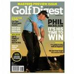 Golf Digest Magazine 12 Month Subscription