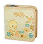Tweety W50001-C-CREAM 40 CD Wallet