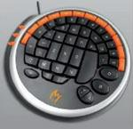Zykon K1 Gamer Keyboard USB Interface Black & Orange