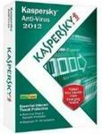 Kaspersky Anti-Virus 2012 3 User For Windows