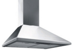 Smeg 90CM Chimney Hood, St/steel