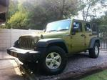 Jeep 2007 Wrangler Unlimited 2.8 Crd Sport Manual Green 97000km