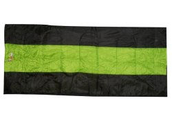 AfriTrail - Loerie Warm Weather Sleeping Bag - Green And Black
