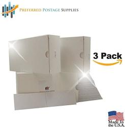 """USA Money Saver Three Pack 3000 Label Count 7"""" X 1 3 4"""" Postage Meter Tape Compare To Pitney Bowes 625-0 PPS7001"""