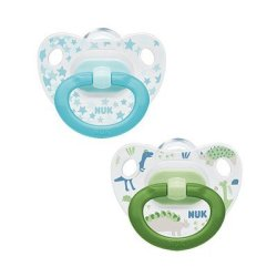 Silicone Nuk Happy Days Soother Size 2