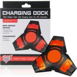 Roky New Model PS4 Controller Charge Station