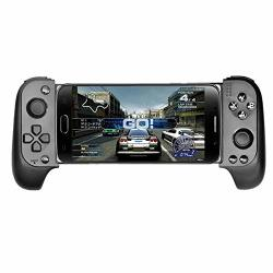 Etbotu Wireless Bluetooth Telescopic Gamepad Game Controller Joystick For Samsung Xiaomi Huawei Android Phone PC