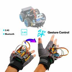 Emakefun Gesture-motion Starter Kit For Arduino Nano V3 0 Support Robot  Smart Car With MPU6050 6 Axis Accelerometer Gyroscope Module NRF24L01+