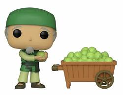 Funko Pop Avatar The Last Airbender Cabbage Man On Cart Shared Sticker Nycc 2019 Exclusive