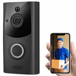 Ocamo Wireless Smart Wifi Doorbell Ir Video Visual Ring Camera Intercom Home Security