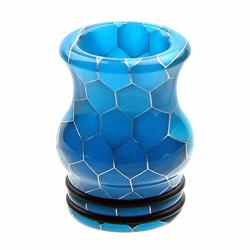Satelliter 810 Drip Tips Luminous Drip Tip Connector For Ice Maker Coffee Mod Machine Resin BLUE1