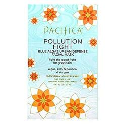 Pacifica Beauty Pacifica Beauty Pollution Fighter Blue Algae Urban Defense Facial Mask 12 Count