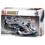 Sluban Formula 1 - 1:24 F1 Racing Car - Silver