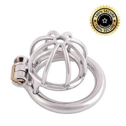 Ternence Metal Male Chastity Device Small 304 Steel Stainless Comfortable Cock Cage Adult Game Sex Toy