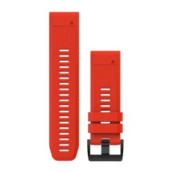 Garmin Quickfit 22MM Flame Red Silicone Band