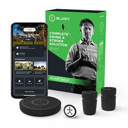 Blast Golf Swing Analyzer I Captures Putting Full Swing With New Short Game And Bunker Modes I Slo-mo Video Capture I App Enabled Ios