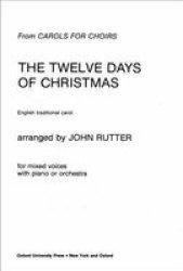 Twelve Days Of Christmas Sheet Music.The Twelve Days Of Christmas Sheet Music Vocal Score R75 00 Other Media Pricecheck Sa