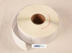 """72 Rolls Dymo Compatible 30252 White 350 Address Labels roll. Size 1-1 8""""X 3-1 2""""."""