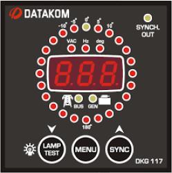 DKG-117 Synchroscope & Check Sync Relay Datakom Synchroscope