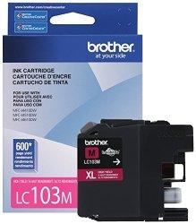 Brother Printer LC103M High Yield Cartridge Ink Magenta