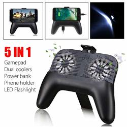 FidgetFidget Mobile Phone Gaming Gamepad Handle Controller Joysticks W 2 Coolers For Pubg For Blackberry Z10 Q10 Z30
