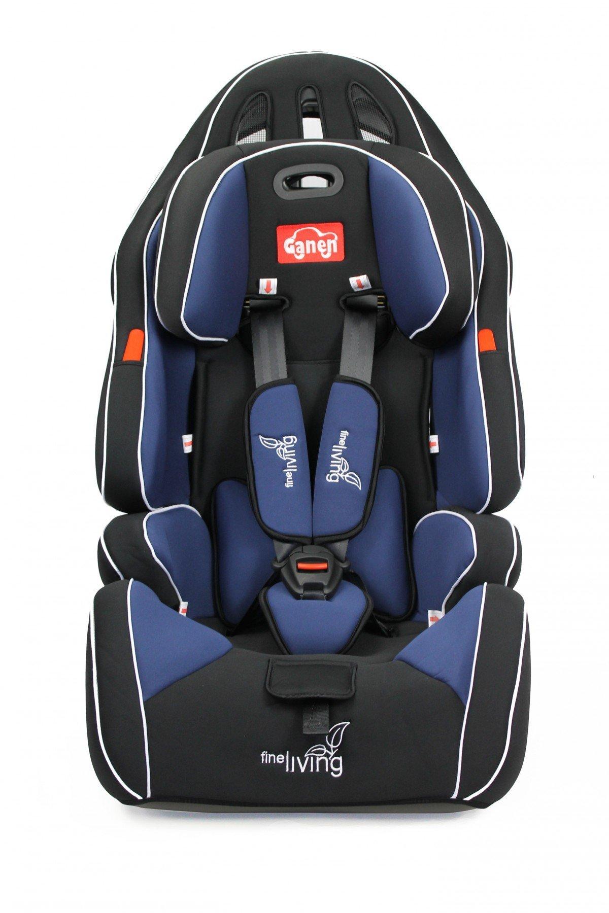Fine Living Car Seat in Navy & Black