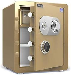 USA Zcf Security Safes Mechanical Security Safes Fireproof Deposit Box For Household Includes Keys Office Hotel Jewelry Cash Use Storage Cabinet Color :
