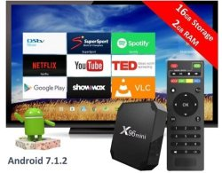 X96 MINI Android Tv Box Wifi Kodi 17 6 Android 7 Nougat 2GIG RAM And 16GIG  Hdd DSTV Now & Showmax | R | Media Centres & Multimedia Players |