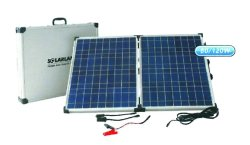 12V 2X40W Portable Solar Charger 720X150X635MM Acdc Solar Battery Chargers