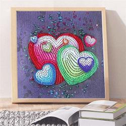 Owill Diy Diamond Cartoon Painting Special Shaped Diamond Painting Diy 5D Partial Drill Cross Stitch Kits Crystal R