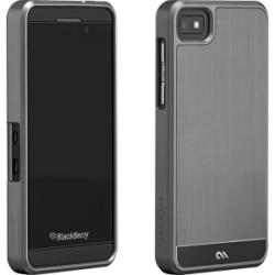 Case Mate Faux Aluminum Cover For Blackberry Z10 - Silver