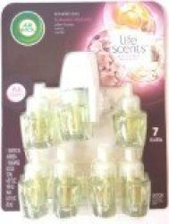 Air Wick Life Scents Scented Oils Summer Delights 7 Refills Plus Warmer