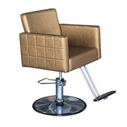 Danyel Beauty Golden Color Hydraulic Styling Barber Chair Hair Spa Beauty Salon Equipment