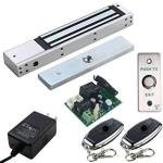 Uhppote Access Control Outswinging Door 600LBS Electromagnetic Lock Kit With Remote Kit