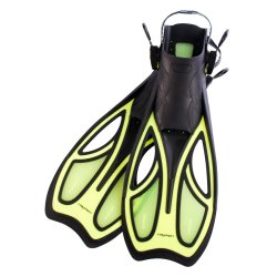 CAYMEN - Adult Fins Large Yellow