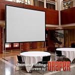 Draper 241302 Ultimate Folding Screen 62 X 96 Matt White XT1000V