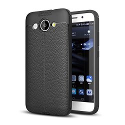 SCIMIN TECH Huawei Y5 Lite 2017 Case Huawei Y5 Lite 2017 Faux Leather Case  Soft Case Anti-slip Tpu Cover For 5 0