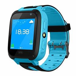 Layopo Kids Gps Tracker Watch Waterproof Kids Smart Watch With 1.44 Inch Touch Screen call gps activity Tracking game hd Camera Tracker Smartwatch Phone For Kids Birthday Great Gifts
