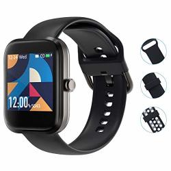 SMART WATCH Virmee Fitness Tracker For Android Phones Ios Phones Heart Rate Monitor Blood Oxygen Meter Sleep Tracking IP68 Waterproof Step Calorie Counter For