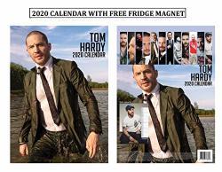 Tom Hardy Unofficial Calendar 2020 + Tom Hardy Refrigerator Magnet