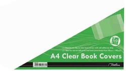 Treeline A4 Adjustable 120 Micron Book Covers Pp - 10'S
