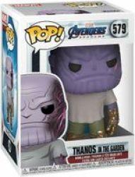 Pop Marvel: Avengers Endgame - Thanos In The Garden Vinyl Figure