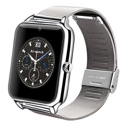 Touchscreen Z50 Smart Watch Bluetooth 3.0 Smart Watch Phone 0.3MP Camera Pedometer Sedentary Reminde